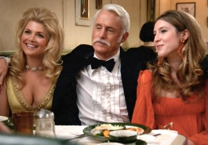 We Really Need To Talk About Roger Sterling's New Mustache On 'Mad Men'