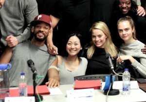'Suicide Squad' Cast Assembles For A Photo, New Castmembers Revealed