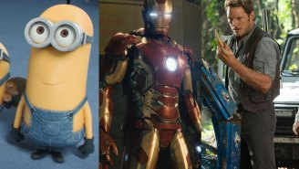 Can Minions or Jurassic World beat Avengers: Age of Ultron for no. 1 this summer?