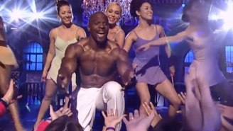 Terry Crews Recreated His 'A Thousand Miles' Performance From 'White Chicks' On 'Lip Sync Battle'