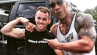 Dwayne 'The Rock' Johnson Started Crying After Meeting A Fan With Cancer
