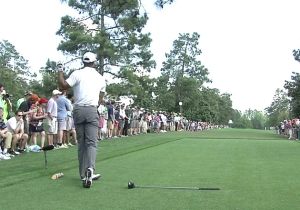 The Ninth Hole Did Not Go Well For Tiger Woods