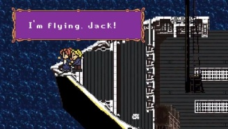 FINALLY: Someone Made An 8-Bit 'Titanic' Video Game!