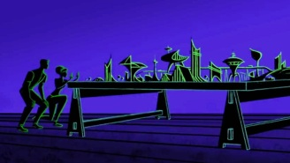 Deleted 'Tomorrowland' animated sequences reveal Tesla's secret society