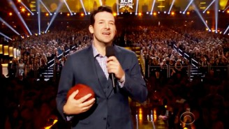 Tony Romo Takes A Shot At The Patriots And Deflategate At An Awards Show