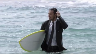 Quiksilver's True Wetsuits Go Straight From The Beach To The Conference Room
