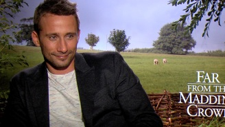 Matthias Schoenaerts says Eddie Redmayne could win his second Oscar for 'Danish Girl'