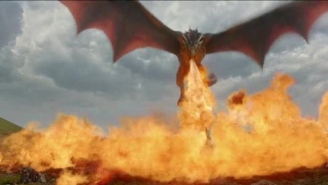 The 'Game Of Thrones' Dragons Will Be More Realistic Than Ever Thanks To A Giant New Flamethrower