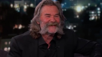 Kurt Russell And His Mustache Claim Working With Quentin Tarantino 'Is Like Being On A Pirate Ship'