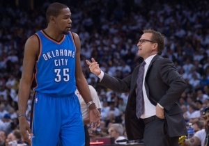 Report: Scott Brooks May Not Be Coaching The Oklahoma City Thunder Next Year