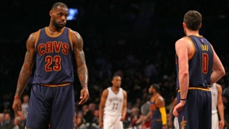 When Asked For His MVP Pick, LeBron James Jokingly Named Kevin Love