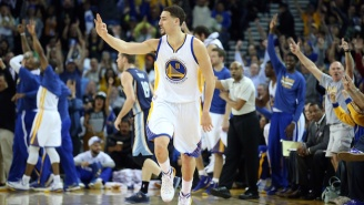 Watch Klay Thompson Explode For 23-Straight Points In A Quarter