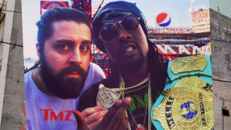 Rapper Wale Says He's 'Blackballed' By WWE Because They Gave Him Free Fifth Row WrestleMania Tickets