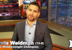 Here's The Story Of UFC Champ Chris Weidman Pooping In His Wife's Trashcan