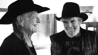 Of course Willie Nelson and Merle Haggard released a 'Pot' video today