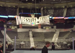 Take A Behind-The-Scenes Look At Setting Up A WWE Arena With HowStuffWorks
