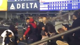 Watch This Red Sox Fan Throw Her Beer At A Yankee Fan's Face