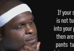 Zach Randolph Does His Best Jack Handey Impression In Local Pizza Commercial