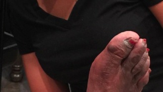 Oh My God, Shaq's Feet Are Disgusting, As This Video Of His Pedicure Shows
