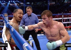 Check Out Canelo Alvarez's Vicious Knockout Of James Kirkland