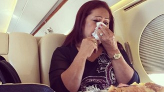 The Rock Shares A Wonderful, Tearful Story About His Mom