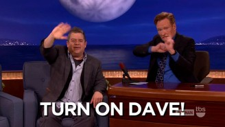 Watch Conan O'Brien's Tremendous Gesture As He Tells Viewers To Switch To Letterman