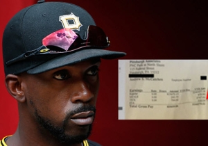 Take An Envious Look At An MLB Player's Insane Pay Stub