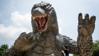 Anne Hathaway's Artsy Fartsy 'Godzilla' Film Sued By The Lizard's Rights Holders