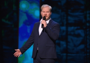 Jim Gaffigan On His New Show And How His Fear Of Giving Advertising Presentations Led To Him DoingComedy