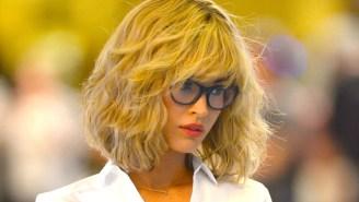 Here's Megan Fox Dressed Like A Blonde Schoolgirl On The Set Of 'Teenage Mutant Ninja Turtles 2'