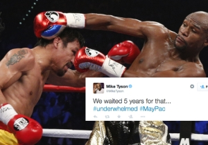 Here Are The Internet's Best Reactions To Mayweather Vs. Pacquiao
