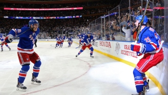 The Rangers Sent MSG Into A Frenzy With A Game 7 Overtime-Winner Over The Capitals