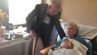 This Old Couple Celebrating Their 57th Anniversary Proves True Love Is No Myth