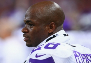 Adrian Peterson Shows Off His New 'Armor Of God' Tattoo