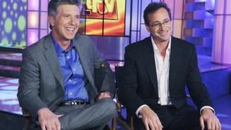 Bob Saget Showed Up For Tom Bergeron's Final 'America's Funniest Home Videos'