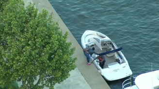 Pedro Alvarez Launched A Dinger Out Of PNC Park And Straight Into A Boat On The Allegheny River