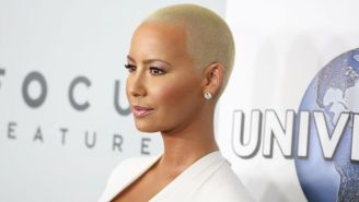 Amber Rose Bleached Her Eyebrows And Now Looks Like A Completely Different Person