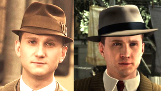 Did You Know That As Many As 75 'Mad Men' Characters Were Mo-Capped Into The Video Game 'L.A. Noire'?