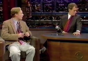 Andy Daly Tells Us About The First (And Only) Time He Appeared On Letterman