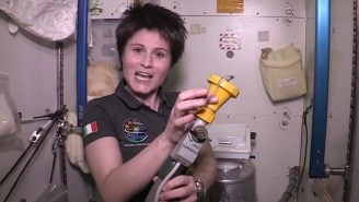 You Probably Don't Want To Know How Astronauts Go To The Bathroom Aboard The International Space Station