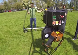 College Students Pelt A Robot With Dodgeballs For Science!
