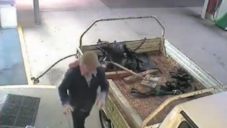 Watch This Australian Man Repeatedly Fail To Steal An ATM