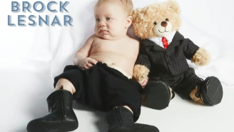 Here's WWE BABIES, Today's Best 90 Seconds Of Crying Children Dressed Like Dean Ambrose