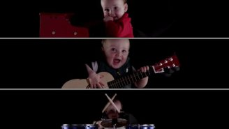 Watch This 8-Month-Old Rock Out With Various Musical Instruments