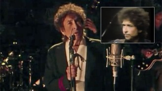 Watch Bob Dylan Perform On 'Letterman' For The First Time In Over 20 Years