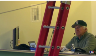 VIDEO: Brewers Broadcaster Bob Uecker Got Locked In His Press Box