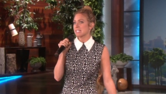 Watch Brittany Snow Awkwardly Rap 'Gangsta's Paradise' On 'Ellen'