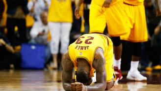 LeBron James Hits A Late Triple To Give Cleveland A Wild Game 3 Win Over Atlanta