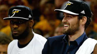 Kevin Love Says He Expects To Be Playing With The Cavaliers In 2015-2016