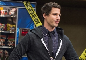 'Brooklyn Nine-Nine' co-creator on Holt's promotion, Jake and Amy's slow-burn romance & more